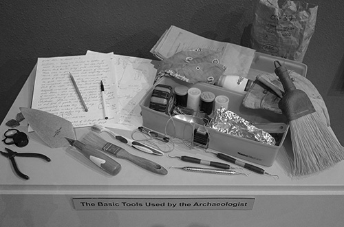 Tools of the Archaeologist